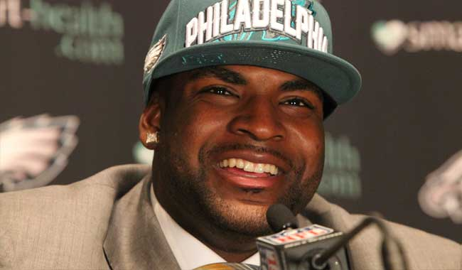 Vinny Curry defensive lineman for the Philadelphia Eagles