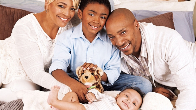 Kim Fields and her family