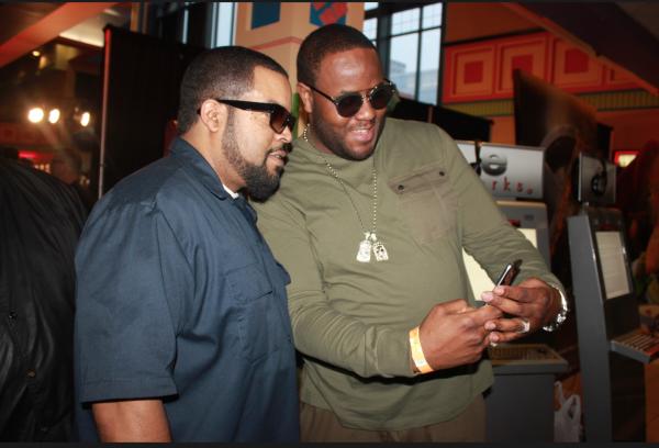 "Ice Cube and Jamal ""Gravy"" Woolard - Photo Credit Jonell Media PR"